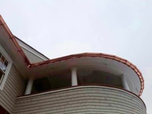 Radius Gutters - K-Style or Half-Round Fairfield CT