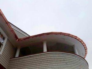 Radius Gutters - K-Style or Half-Round Fairfield CT