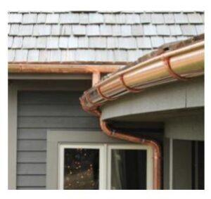 copper gutter installation Fairfield CT